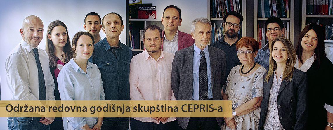 Redovna godišnja skupština CEPRIS-a – Beograd, 27.5.2017.
