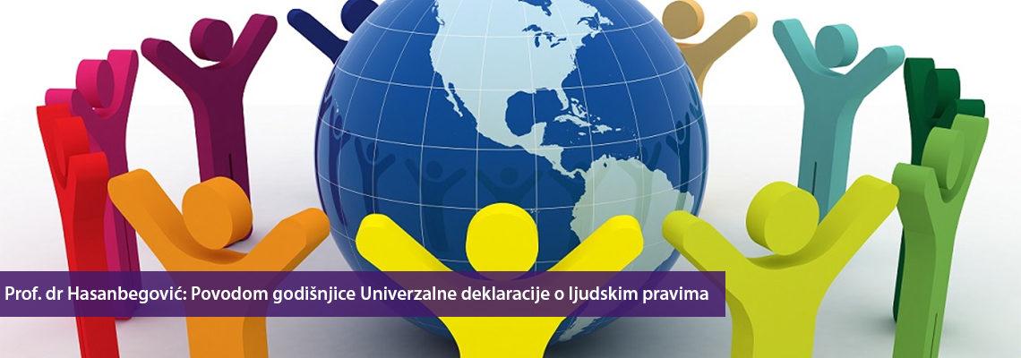 Prof. dr Jasminka Hasanbegović: Povodom godišnjice usvanjanja Univerzalne deklaracije o ljudskim pravima
