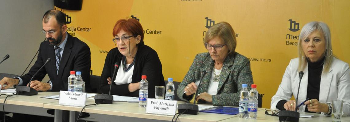 Konferencija za novinare povodom poništavanja doktorata Slobodana Beljanskog