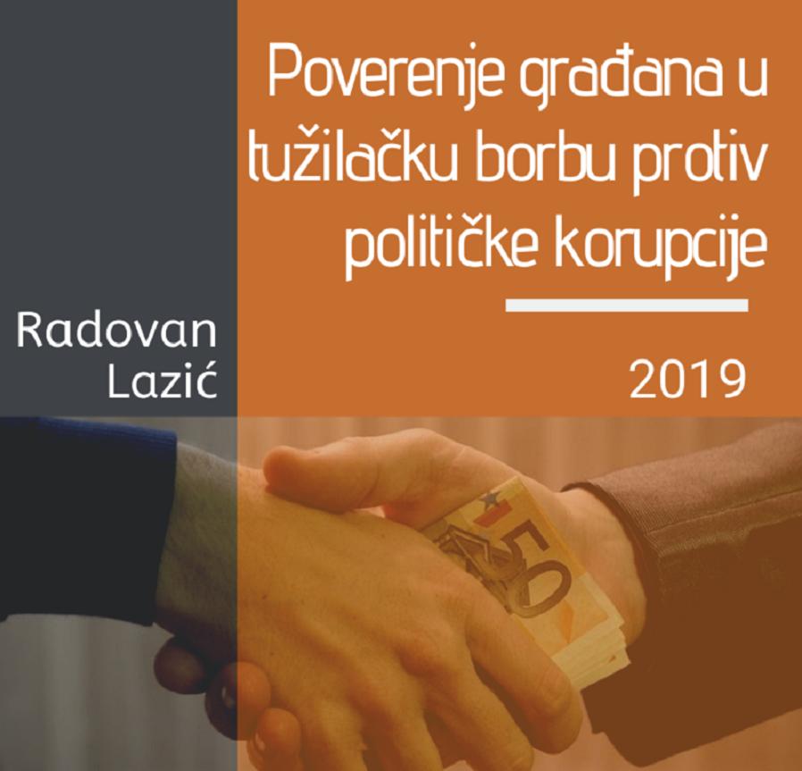"Predstavljanje izveštaja ""Poverenje građana u tužilačku borbu protiv političke korupcije"" Diskusija: Da li verujete da se tužilaštvo bori protiv korupcije?"