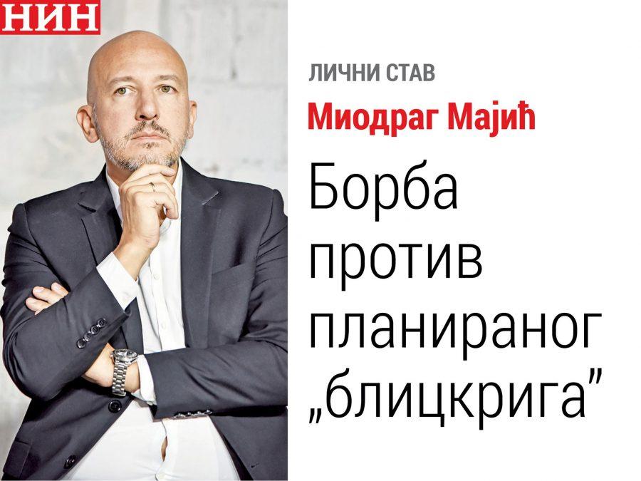 "Izbori u pravosuđu kao plebiscit Majić: Borba protiv planiranog ""blickriga"""